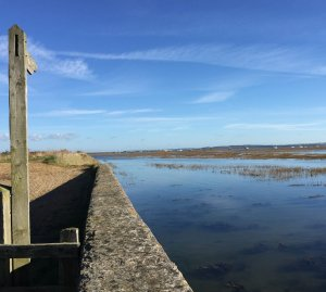 The Sea Wall Walk Lymington